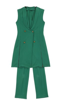 Jumpsuit with vest