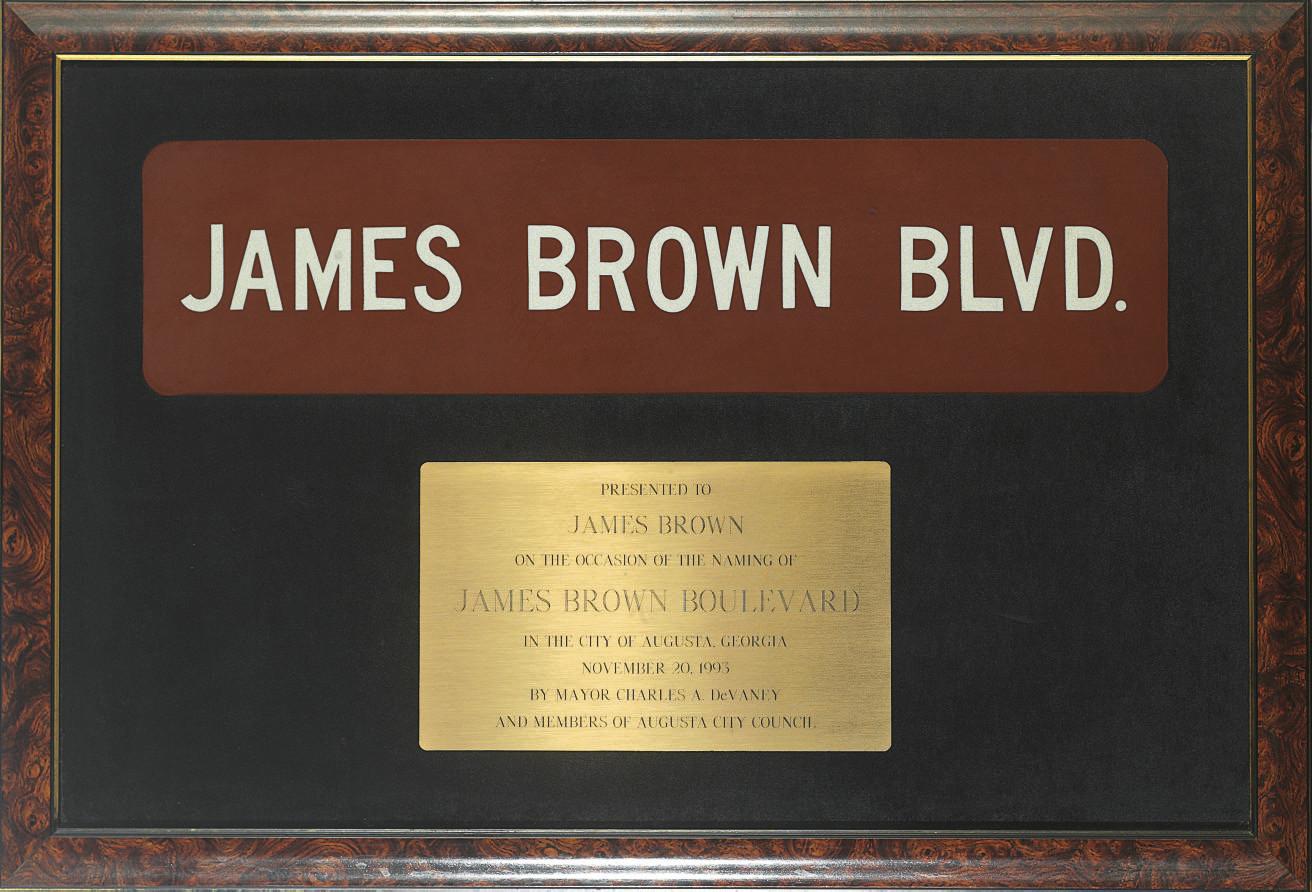 James Brown Boulevard Award