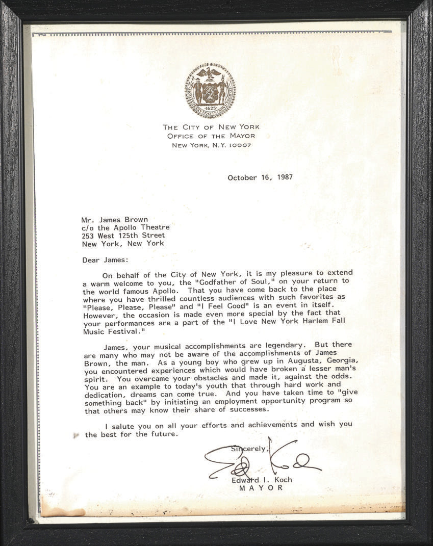 City of New York Letter