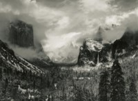 Clearing Winter Storm, Yosemite Valley, 1944