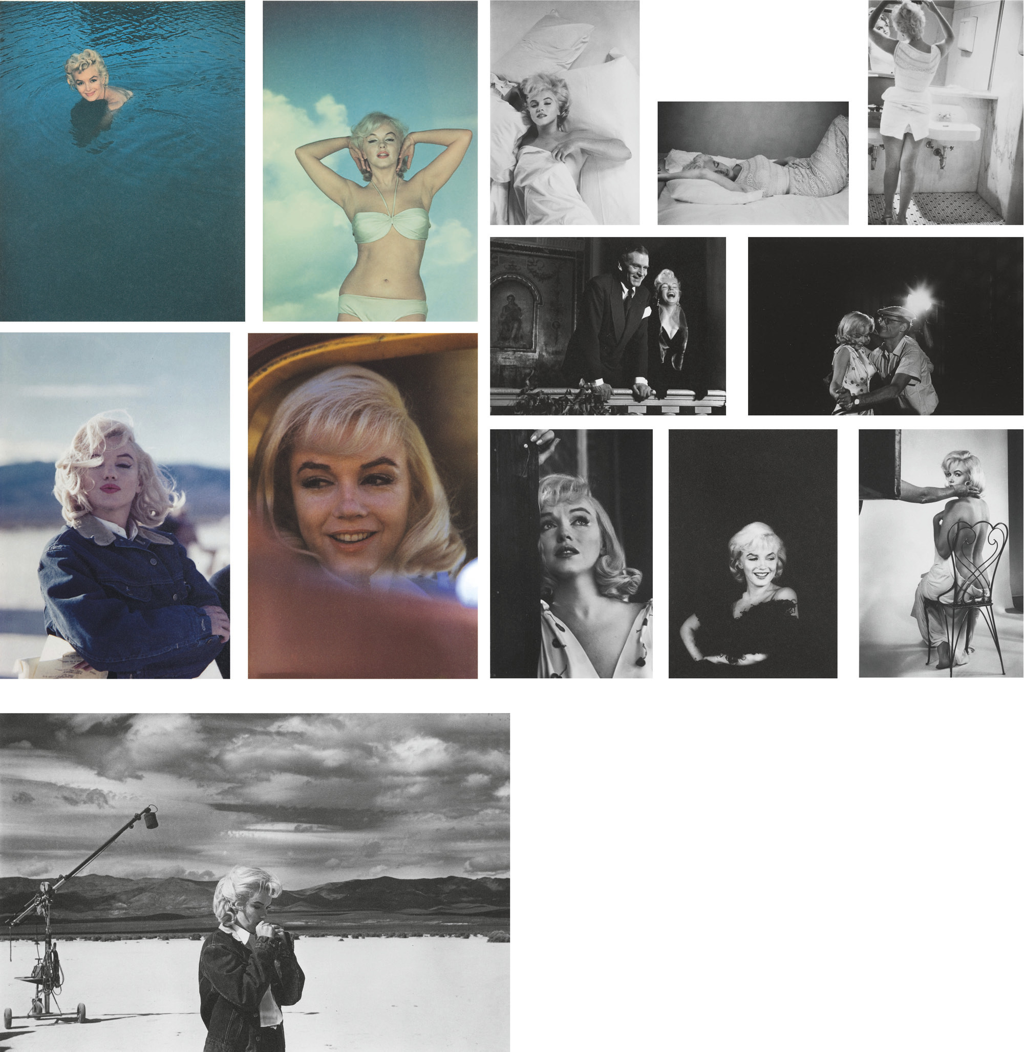 Eve Arnolds 1955 Photo Of Marilyn >> Eve Arnold B 1913 Marilyn 1955 1960 Photographs Christie S