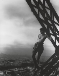 Mathilde, Tour Eiffel, Paris, for Rolling Stone, 1989