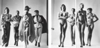 Sie Kommen, Paris (Naked and Dressed), Vogue Studios, 1981