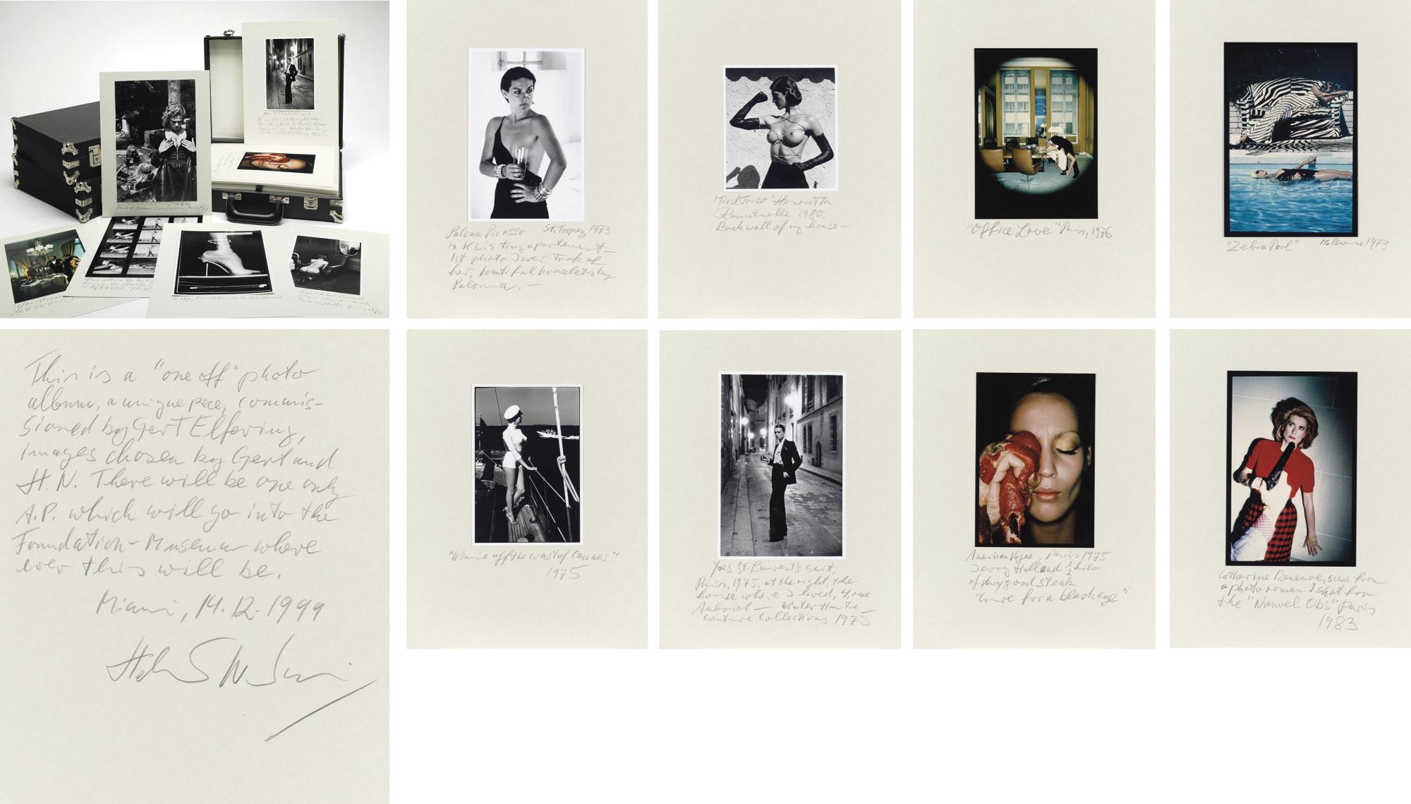 Helmut Newton Portfolio, 1999