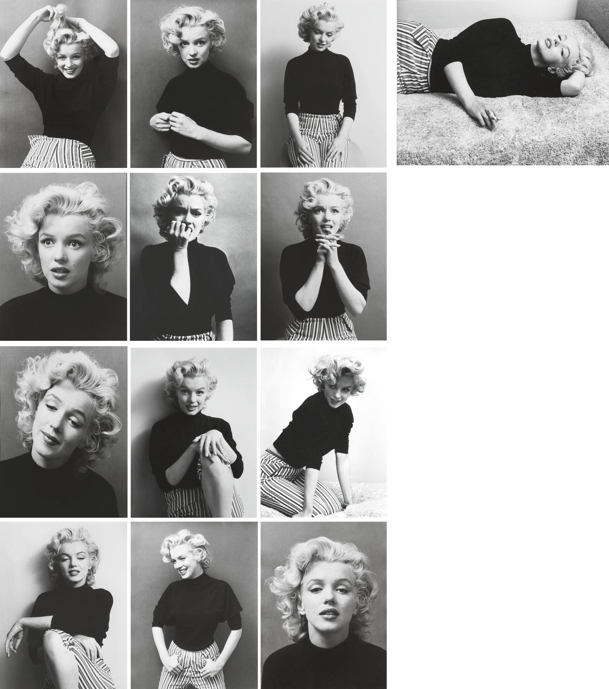 Marilyn Monroe, Hollywood, 1953