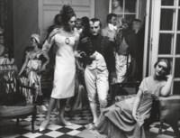 Marie-Lise in Saint Laurent + Napoleon, Musée Grévin, Vogue, Paris, 1963