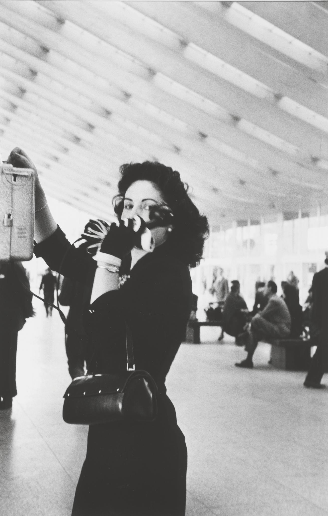 Stazione Termini, Rome, 1956