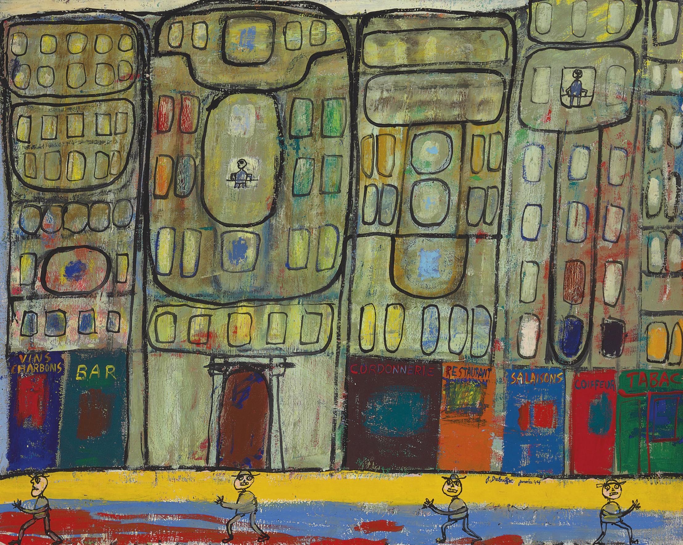 Vue de Paris, quartiers résidentiels (Vue de Paris: les boutiques)