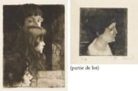 Grand Profil de Femme (Delteil 102)