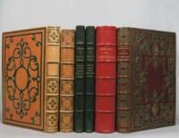 [LITTÉRATURE] -- Ensemble 6 volumes édités par Mame, illustrés de compositions par Barrias et Foulquier. In-8. Reliures en maroquin signées Mame, dont 3 mosaïquées, dos à nerfs, ornés ou non, toutes doublées, tranches dorées dont 4 sur marbrure. Comprenant: