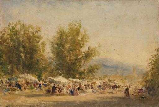 FELIX ZIEM (BEAUNE 1821 - 1911 PARIS)
