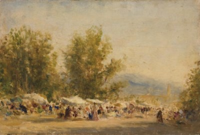 FELIX ZIEM (BEAUNE 1821 - 1911