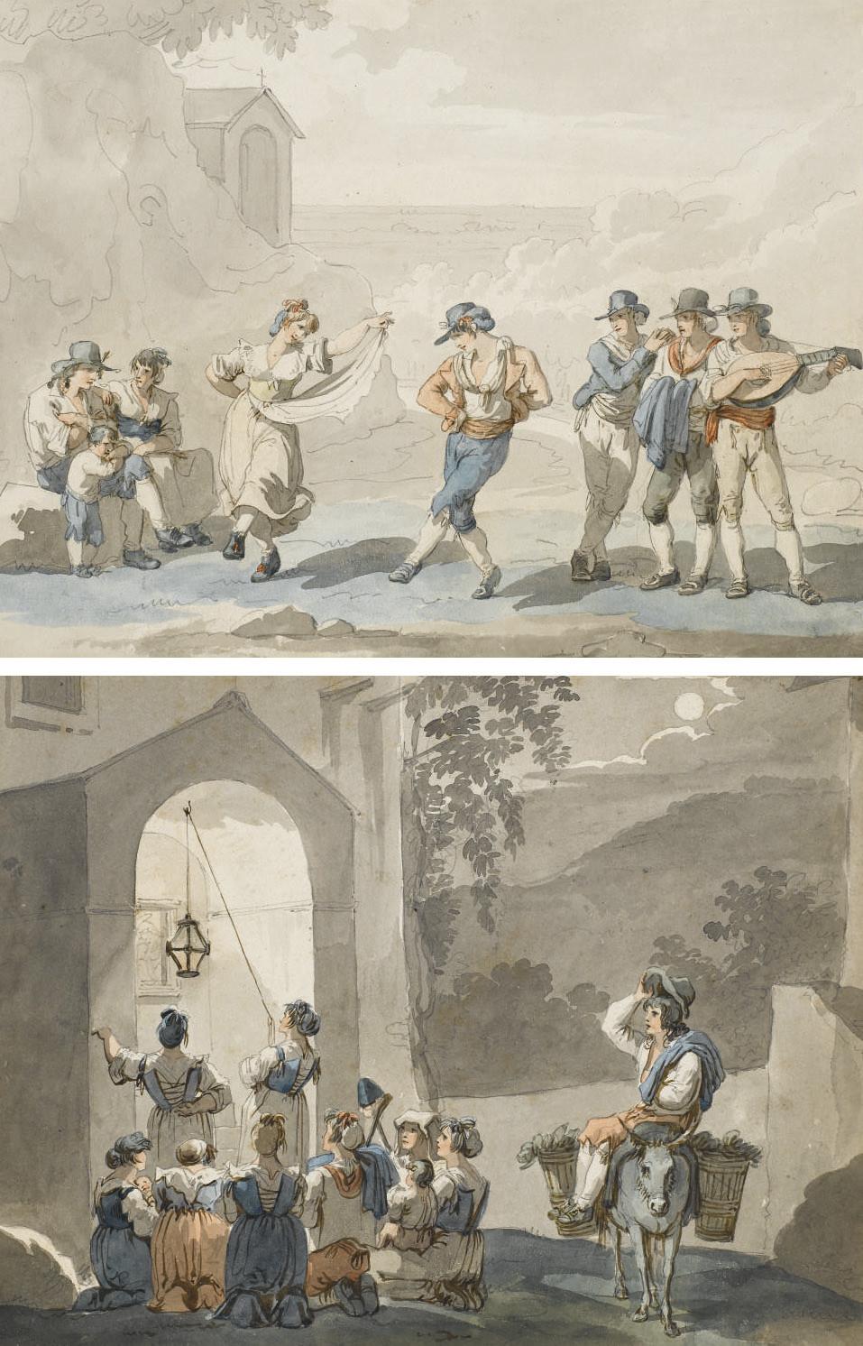 BARTOLOMEO PINELLI (ROME 1781-