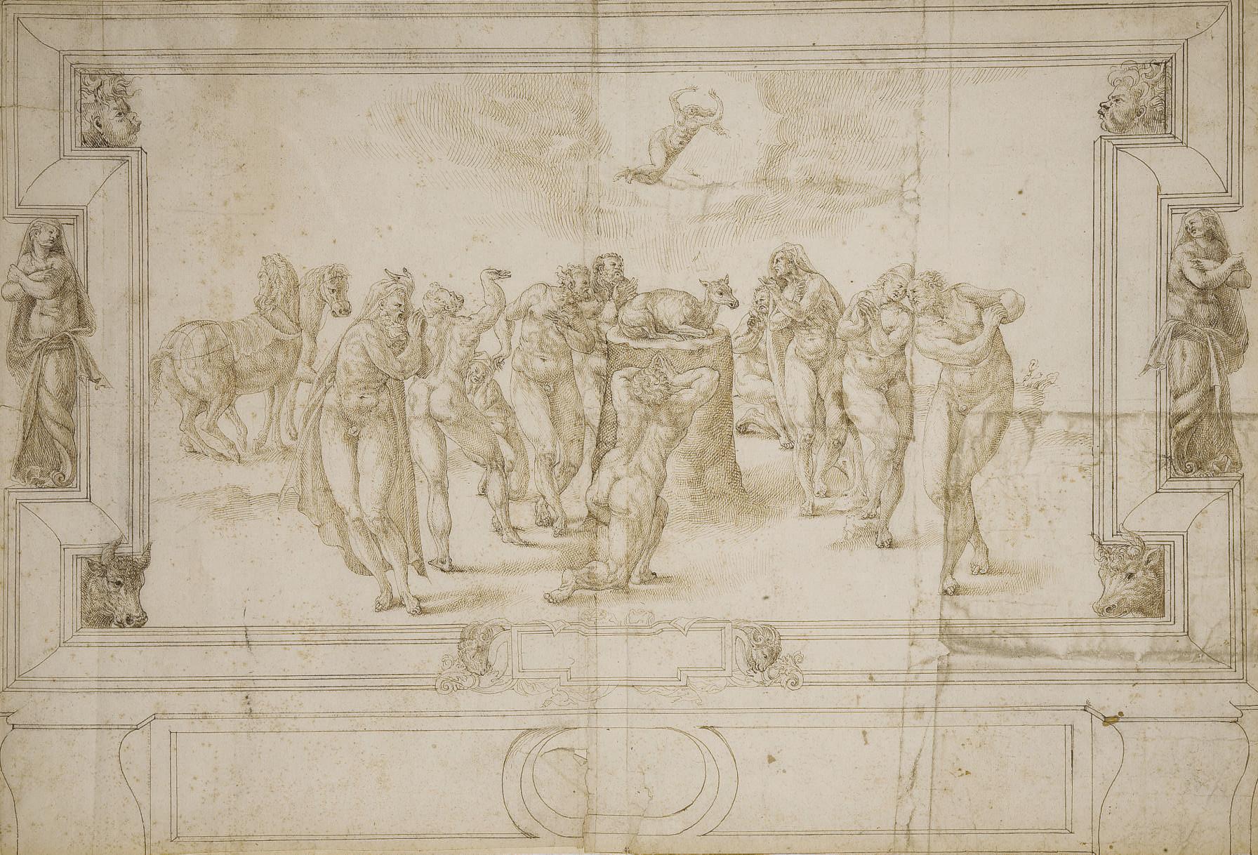 ARTISTE ITALIEN ACTIF EN FRANC