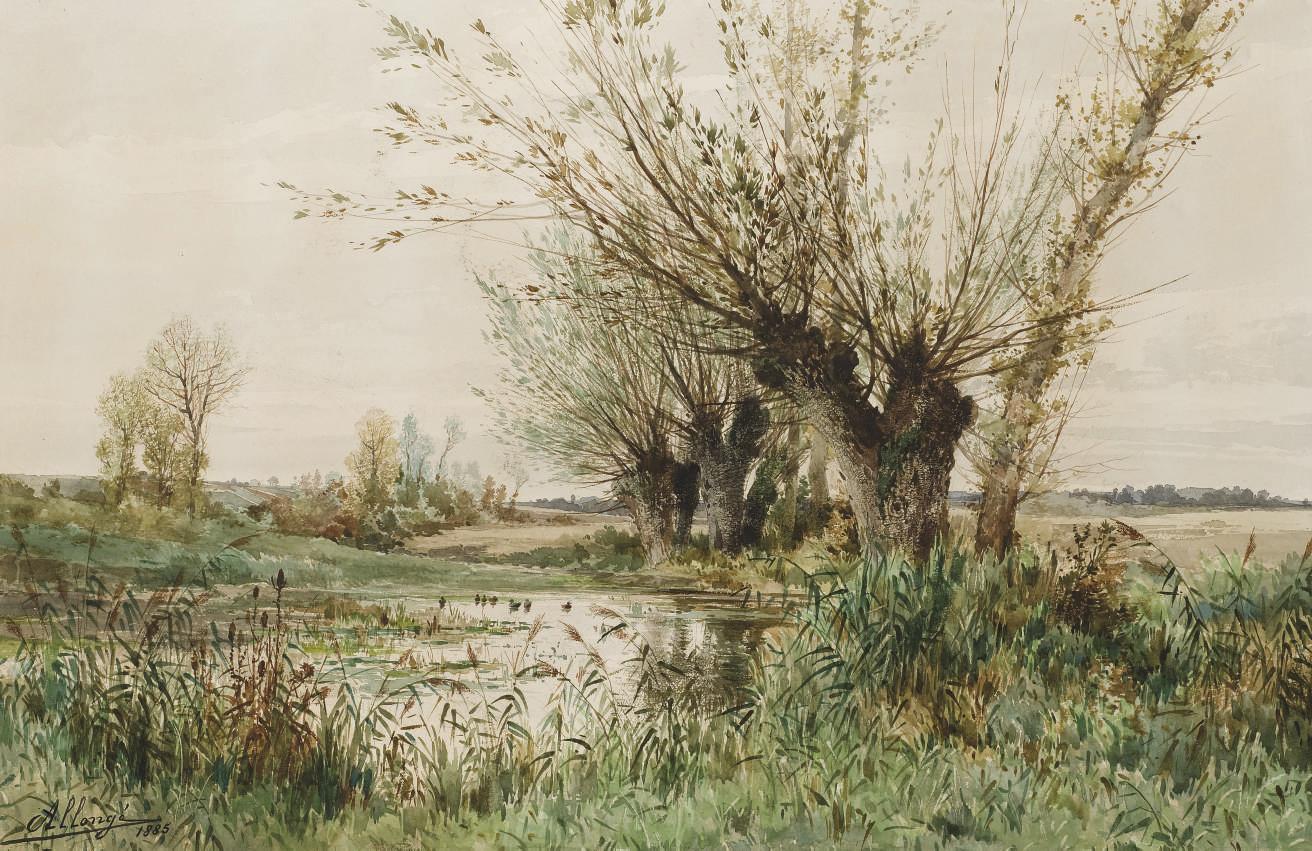 AUGUSTE ALLONGE (PARIS 1833-18