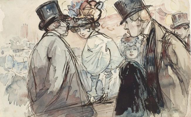 HENRY SOMM (ROUEN 1844-1907 PA