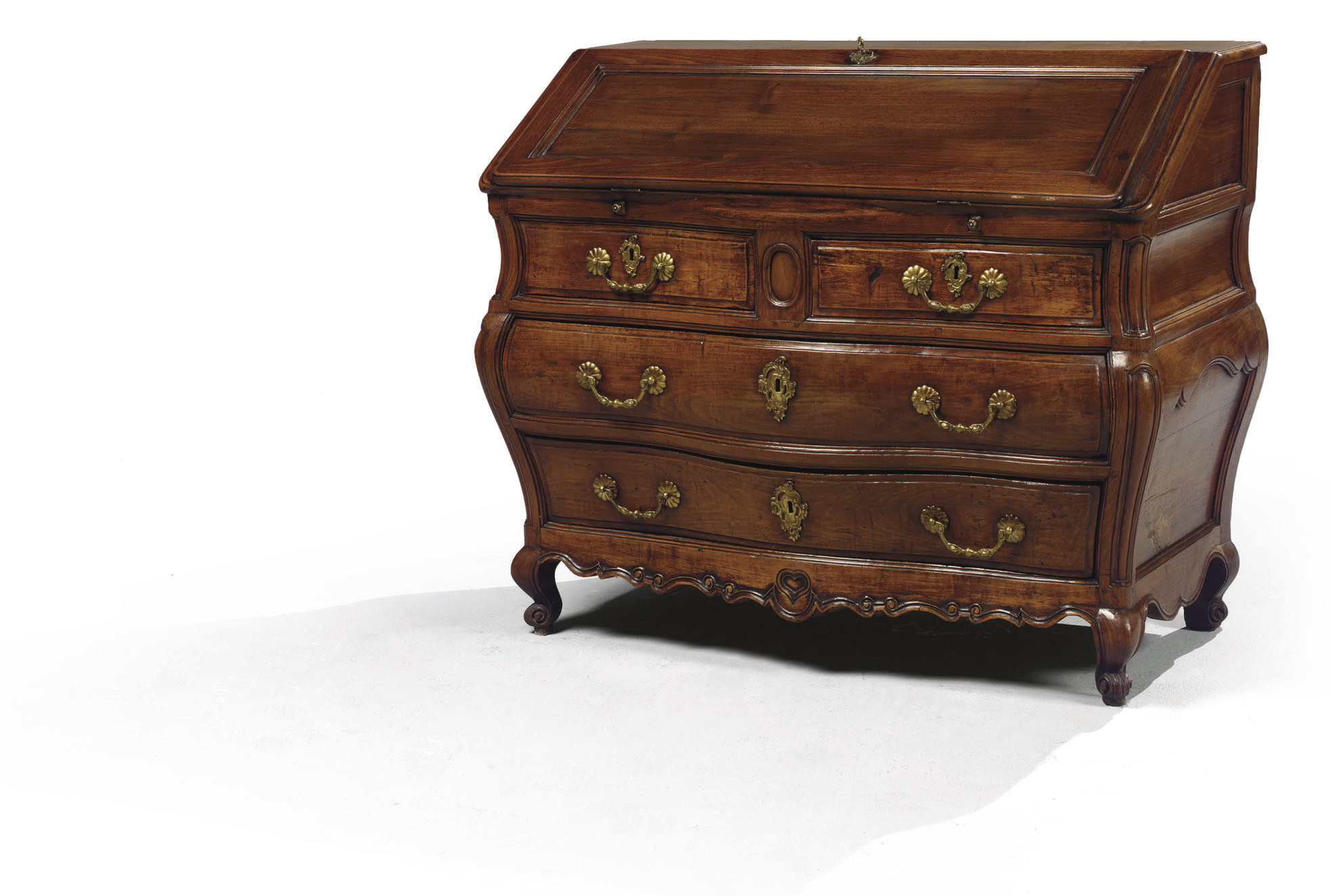 COMMODE SCRIBAN D'EPOQUE LOUIS