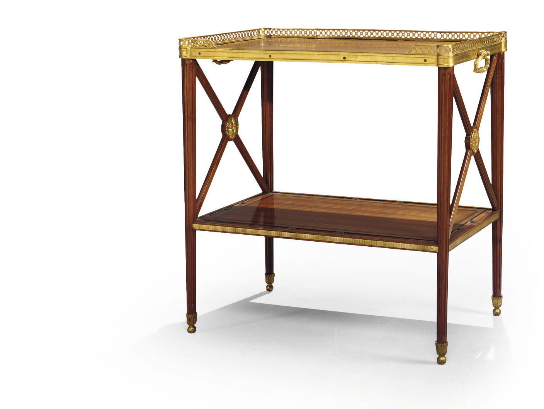 TABLE DESSERTE DE STYLE LOUIS