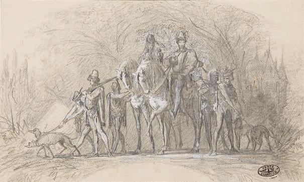 THEOBALD CHARTRAN (1849-1907)