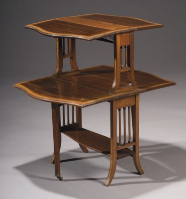 TABLE A THE DU XXEME SIECLE