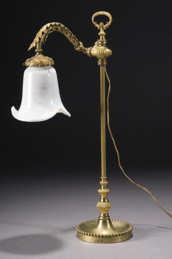 LAMPE DE BUREAU VERS 1900