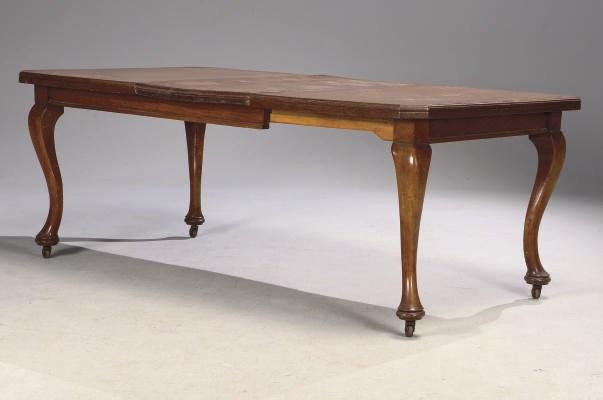 TABLE DE LA FIN DU XIXEME SIEC