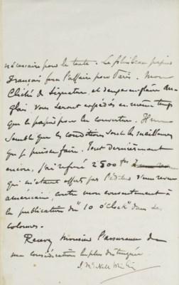 [MALLARMÉ, Stéphane (1842-1898