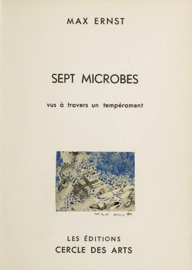 ERNST, Max (1891-1976). Sept m