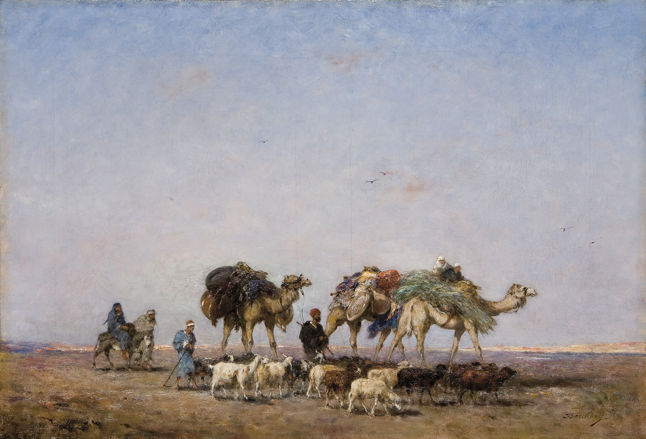 Le retour du désert