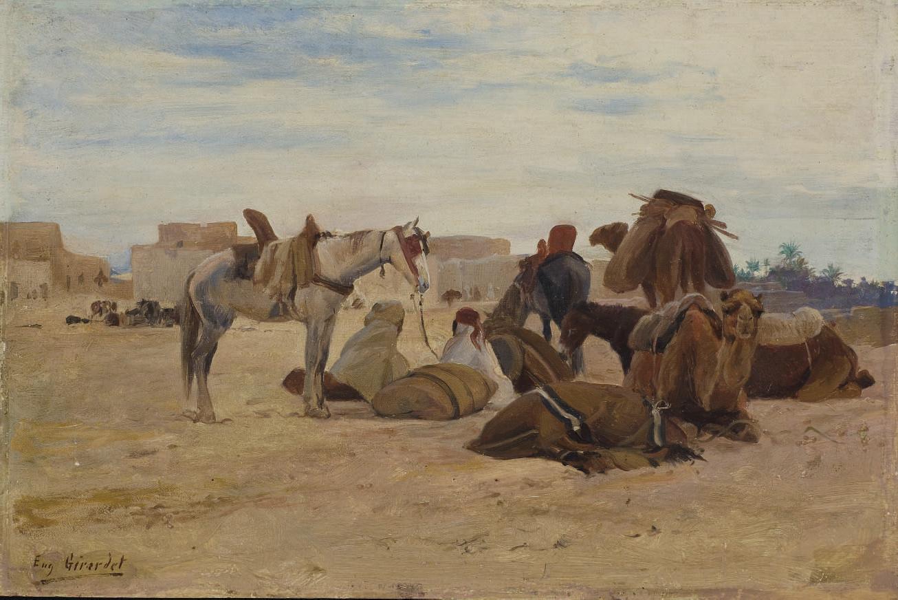 EUGENE ALEXIS GIRARDET (PARIS