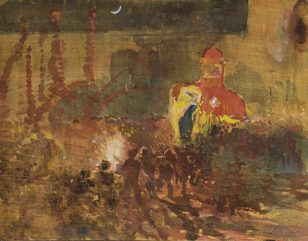 ALBERT BESNARD (PARIS 1849 - 1