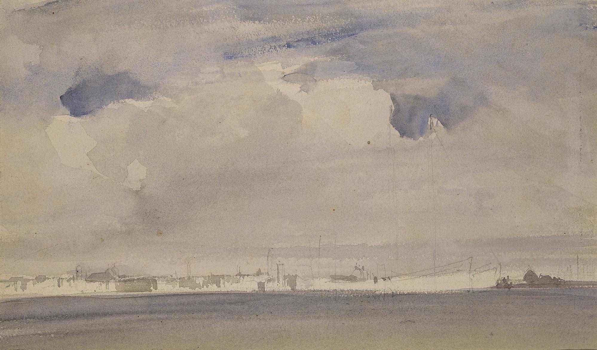 Le quai de Schiavoni, vu depuis l'île de San Giorgio Maggiore
