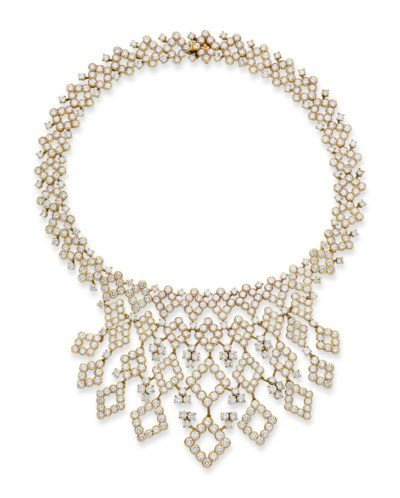 COLLIER DIAMANTS, PAR GERARD
