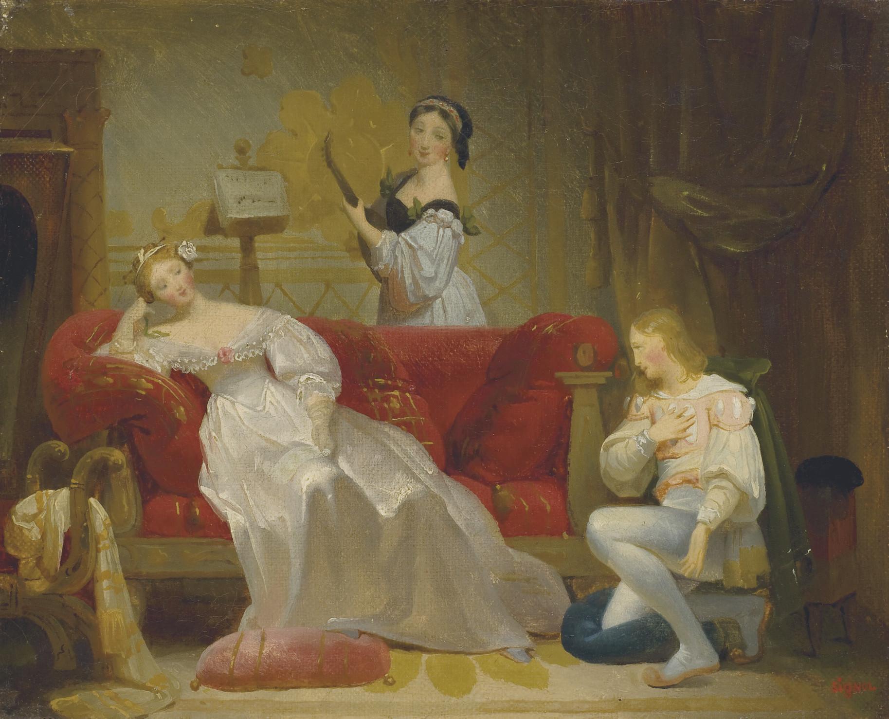 EMILE SIGNOL (PARIS 1804-1892