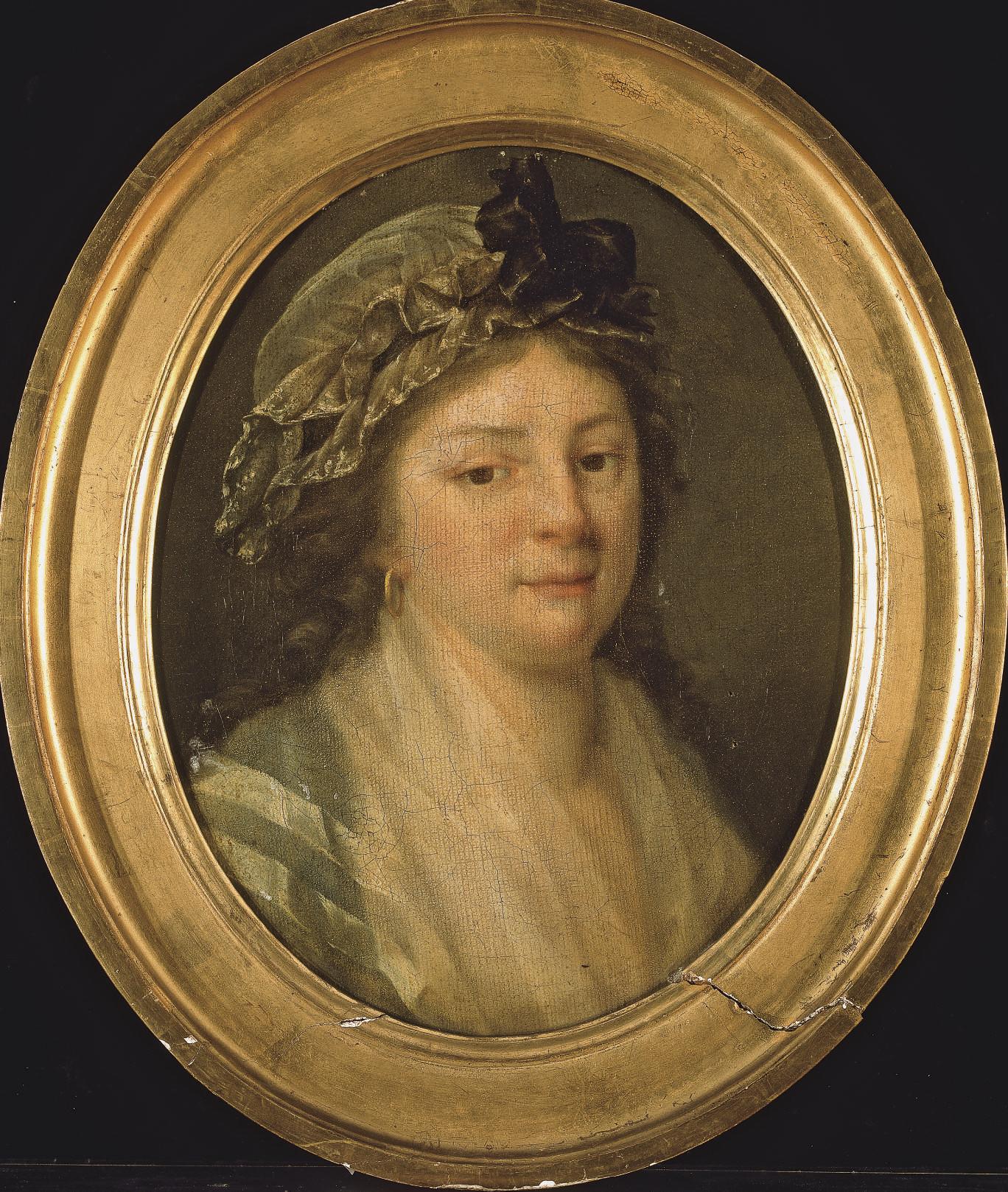 Portrait de Justine-Louise Mercier, tante de l'artiste