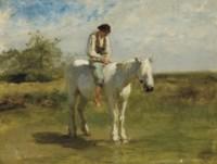 Cavalier en Camargue