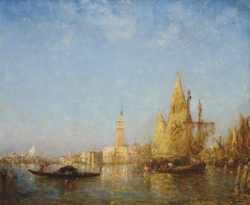 FELIX ZIEM (BEAUNE 1821-1911 P