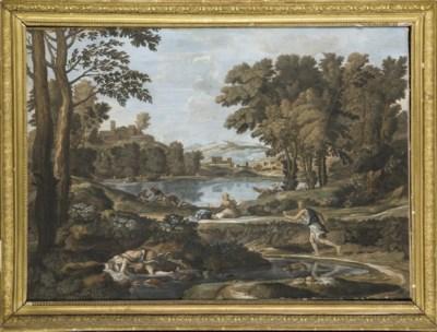 D'APRES NICOLAS POUSSIN (1594-