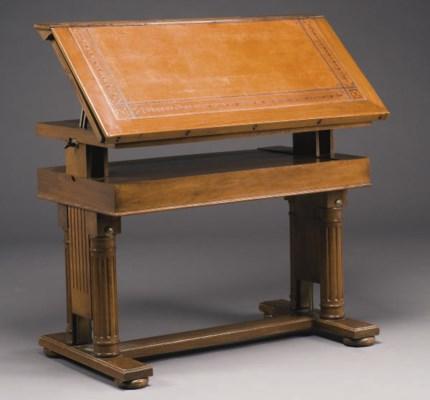 TABLE D'ARCHITECTE DU XIXEME S