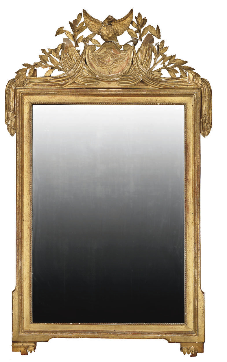 MIROIR D'EPOQUE EMPIRE