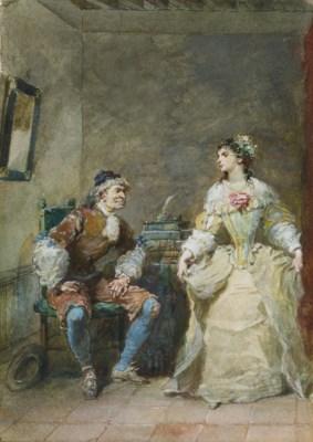EUGENE-LOUIS LAMI (PARIS 1800-