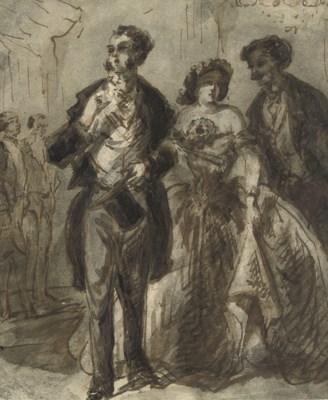 CONSTANTIN GUYS (FLUSHING 1802