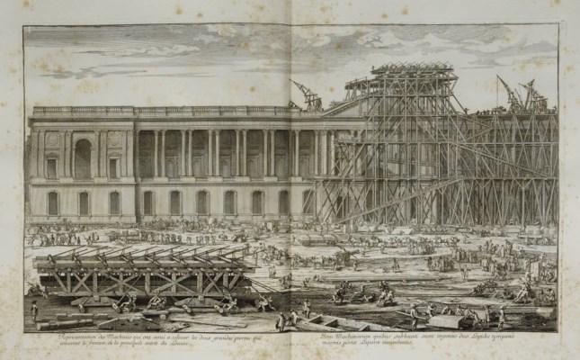 [CABINET DU ROI] -- Louvre et