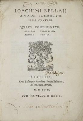 DU BELLAY, Joachim (1522-1560)