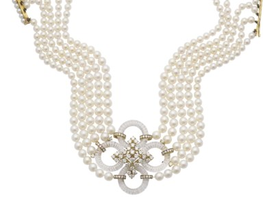 COLLIER PERLES DE CULTURE, CRI