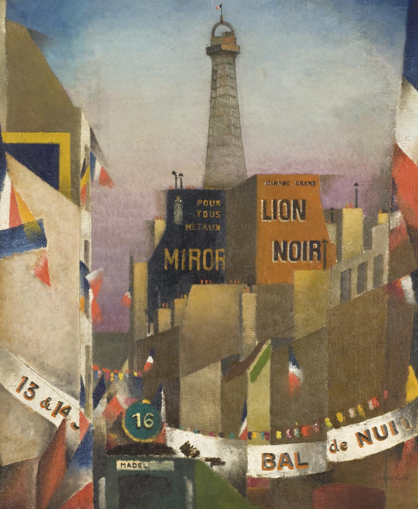 Le bal du 14 Juillet et la Tour Eiffel