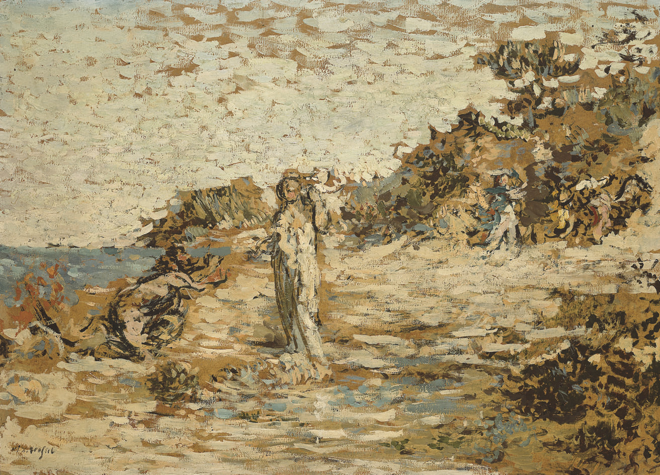 Paysage mythologique