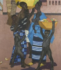 Femmes et enfants, Guinée
