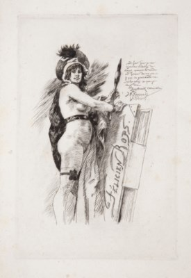 ROPS, Félicien (1833-1898). Le