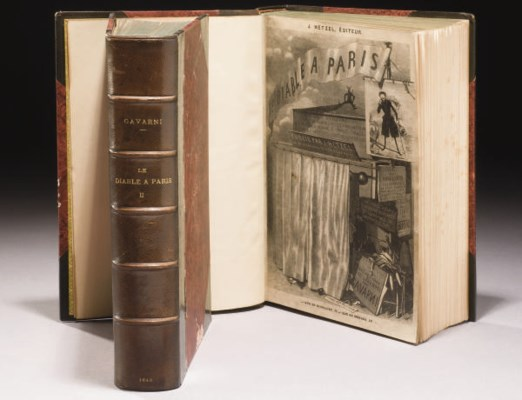 GAVARNI. Le Diable à Paris. Pa